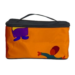 A Colorful Modern Illustration For Lovers Cosmetic Storage Case by Simbadda