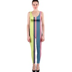 Seamless Colorful Stripes Pattern Background Wallpaper Onepiece Catsuit
