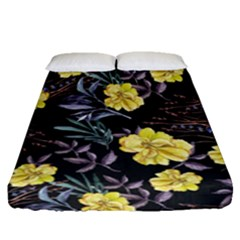 Wildflowers Ii Fitted Sheet (queen Size)