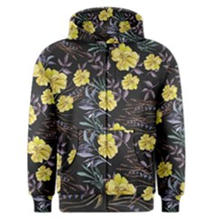 Wildflowers Ii Men s Zipper Hoodie