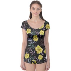 Wildflowers Ii Boyleg Leotard