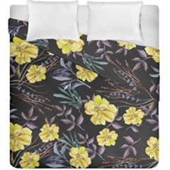 Wildflowers Ii Duvet Cover Double Side (king Size) by tarastyle