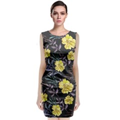 Wildflowers Ii Classic Sleeveless Midi Dress