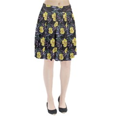 Wildflowers Ii Pleated Skirt by tarastyle