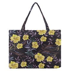 Wildflowers Ii Medium Zipper Tote Bag