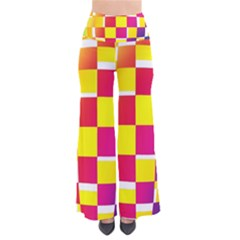 Squares Colored Background Pants by Simbadda