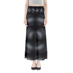 Circular Abstract Blend Wallpaper Design Maxi Skirts by Simbadda