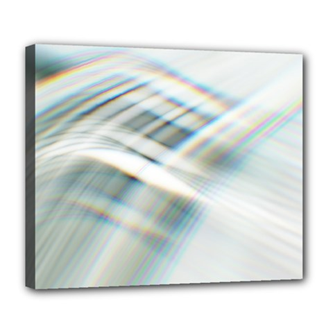 Business Background Abstract Deluxe Canvas 24  X 20   by Simbadda