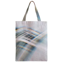 Business Background Abstract Zipper Classic Tote Bag by Simbadda