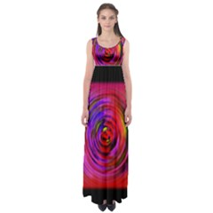 Colors Of My Life Empire Waist Maxi Dress