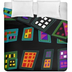 Abstract A Colorful Modern Illustration Duvet Cover Double Side (king Size)