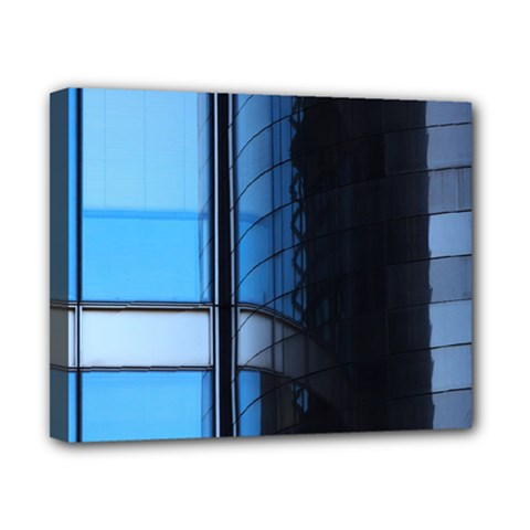 Modern Office Window Architecture Detail Canvas 10  X 8  by Simbadda