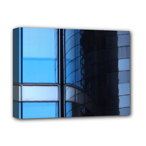 Modern Office Window Architecture Detail Deluxe Canvas 16  X 12   by Simbadda