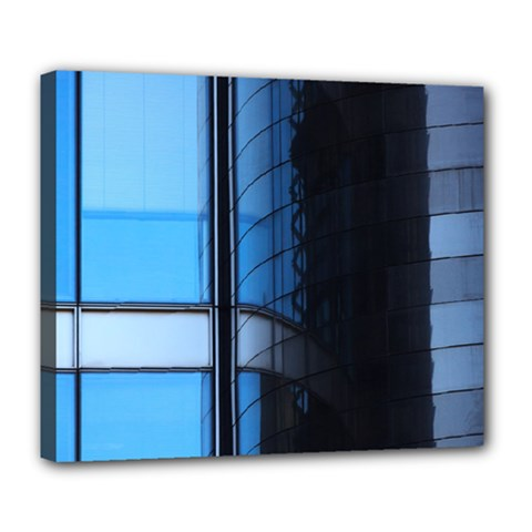 Modern Office Window Architecture Detail Deluxe Canvas 24  X 20   by Simbadda