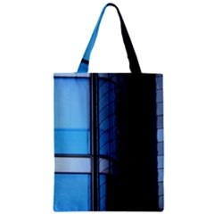 Modern Office Window Architecture Detail Zipper Classic Tote Bag by Simbadda