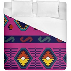 Abstract A Colorful Modern Illustration Duvet Cover (king Size) by Simbadda