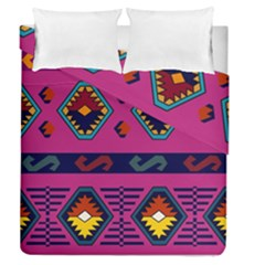 Abstract A Colorful Modern Illustration Duvet Cover Double Side (queen Size)