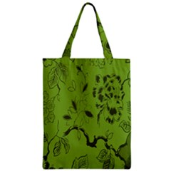 Abstract Green Background Natural Motive Classic Tote Bag by Simbadda