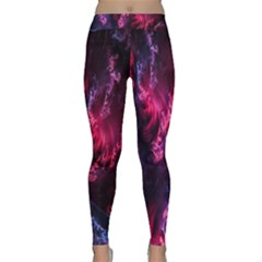Abstract Fractal Background Wallpaper Classic Yoga Leggings