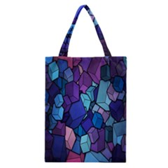 Cubes Vector Art Background Classic Tote Bag by Simbadda