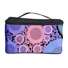 An Abstract Background Consisting Of Pastel Colored Circle Cosmetic Storage Case by Simbadda