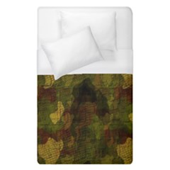 Textured Camo Duvet Cover (single Size) by Simbadda