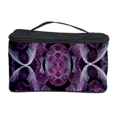Fractal In Lovely Swirls Of Purple And Blue Cosmetic Storage Case by Simbadda
