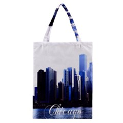 Abstract Of Downtown Chicago Effects Classic Tote Bag