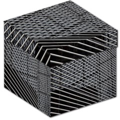Abstract Architecture Pattern Storage Stool 12