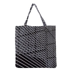 Abstract Architecture Pattern Grocery Tote Bag by Simbadda