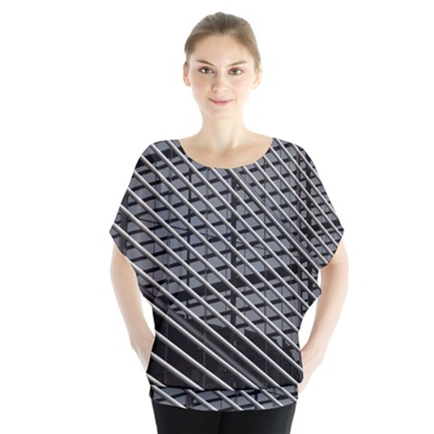 Abstract Architecture Pattern Blouse by Simbadda
