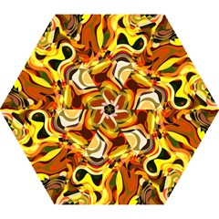 Colourful Abstract Background Design Mini Folding Umbrellas by Simbadda