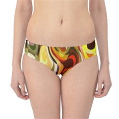 Colourful Abstract Background Design Hipster Bikini Bottoms by Simbadda