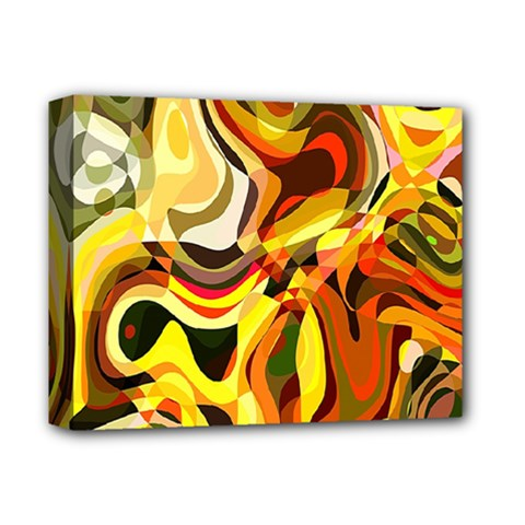 Colourful Abstract Background Design Deluxe Canvas 14  X 11  by Simbadda