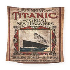 Titanic Square Tapestry (large) by Valentinaart