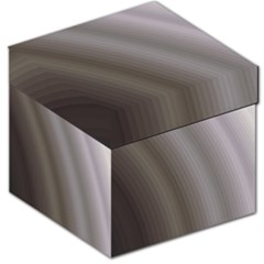 Fractal Background With Grey Ripples Storage Stool 12