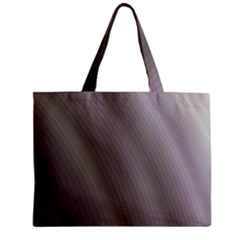 Fractal Background With Grey Ripples Zipper Mini Tote Bag by Simbadda
