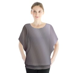 Fractal Background With Grey Ripples Blouse by Simbadda
