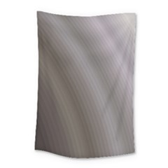 Fractal Background With Grey Ripples Small Tapestry by Simbadda