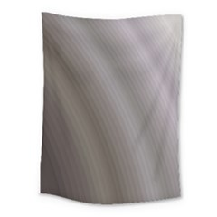 Fractal Background With Grey Ripples Medium Tapestry by Simbadda