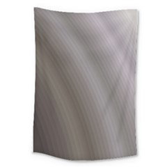 Fractal Background With Grey Ripples Large Tapestry by Simbadda