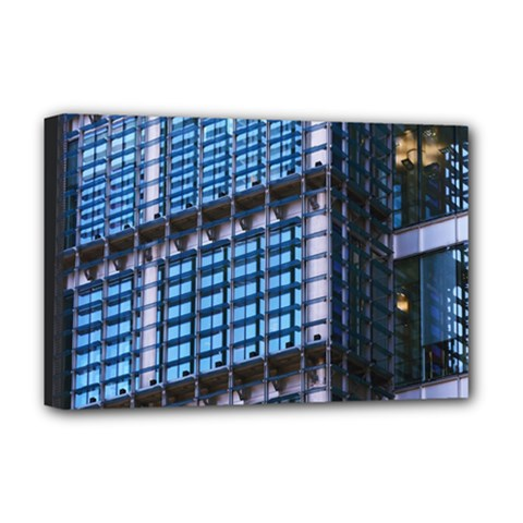 Modern Business Architecture Deluxe Canvas 18  X 12   by Simbadda