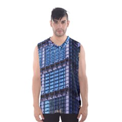 Modern Business Architecture Men s Basketball Tank Top by Simbadda