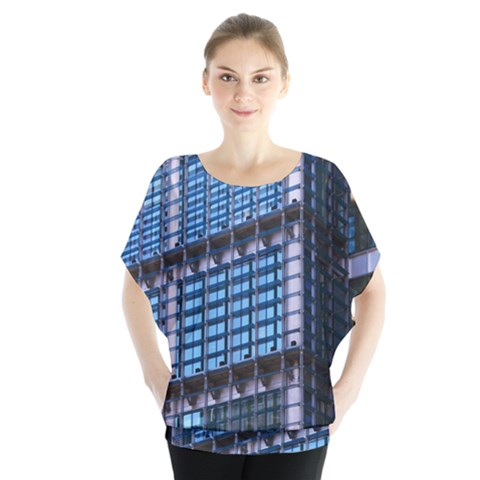Modern Business Architecture Blouse by Simbadda