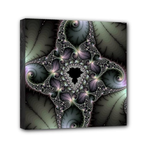 Magic Swirl Mini Canvas 6  X 6  by Simbadda