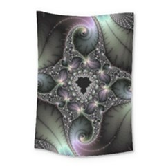 Magic Swirl Small Tapestry by Simbadda