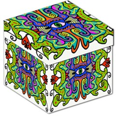 Abstract Shape Doodle Thing Storage Stool 12