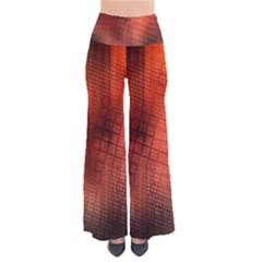 Background Technical Design With Orange Colors And Details Pants by Simbadda