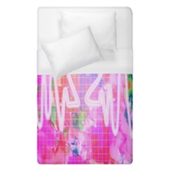 Watercolour Heartbeat Monitor Duvet Cover (single Size) by Simbadda