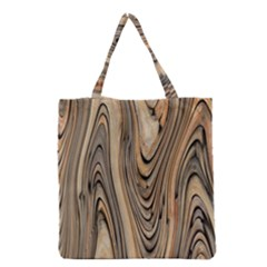 Abstract Background Design Grocery Tote Bag